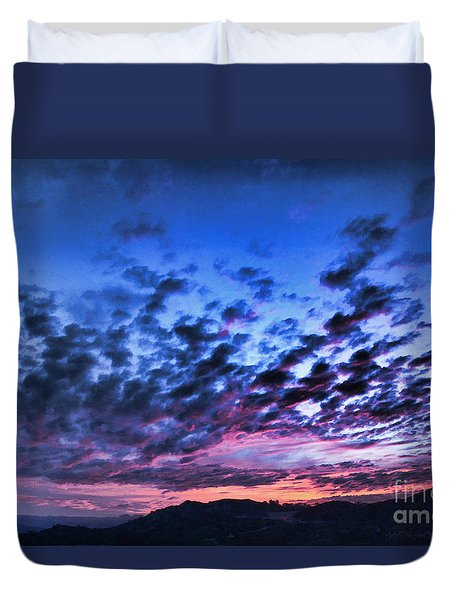 Transform My Life Duvet Cover