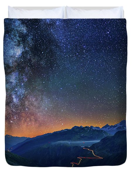 Transience And Eternity Duvet Cover