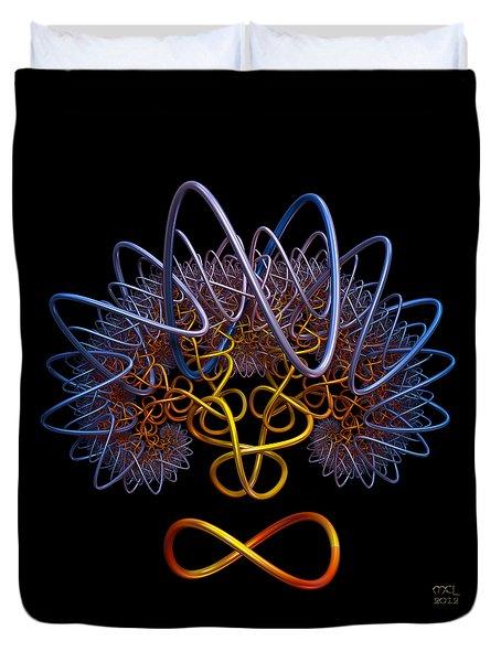 Transinfinity - A Fractal Artifact Duvet Cover