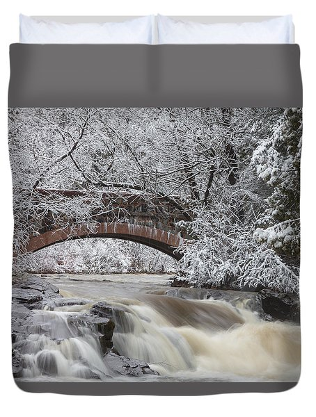 Transitions Duvet Cover by Mary Amerman