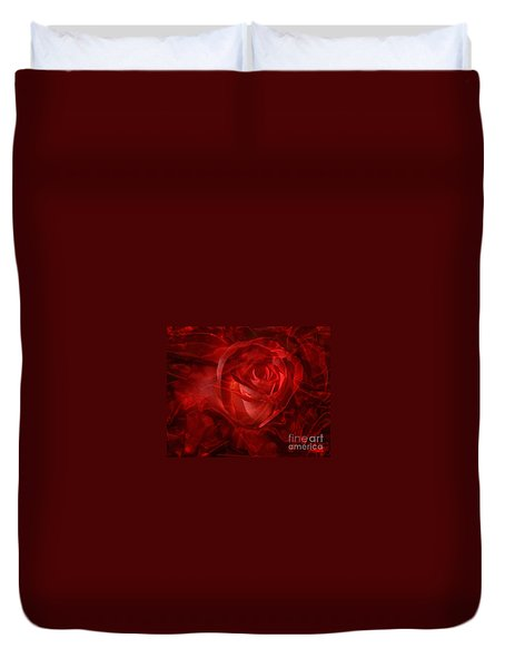 Translucent Rose Duvet Cover