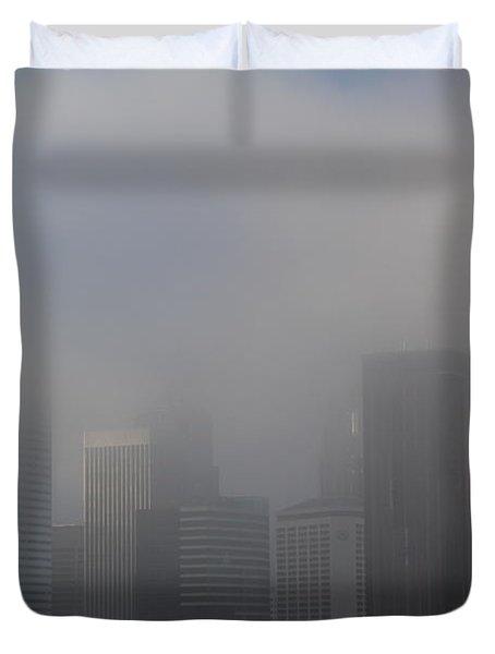 Translucent Skyline Duvet Cover