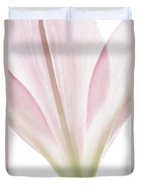 Transparent Lilly I Duvet Cover
