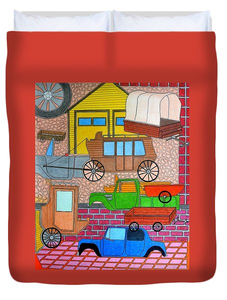 Transport Duvet Cover