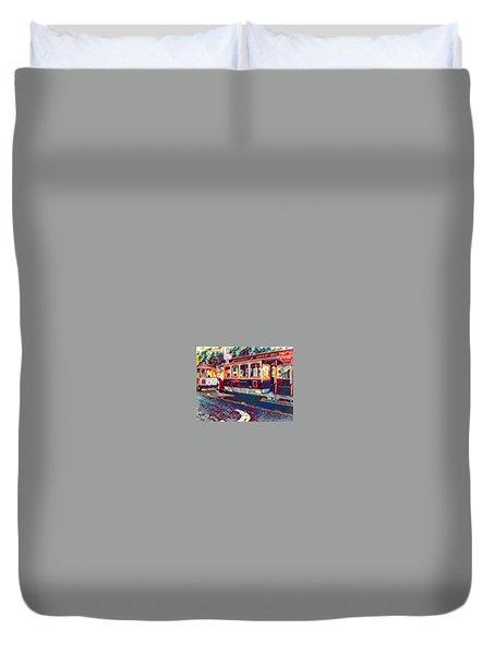 Travel San Fran Style Duvet Cover