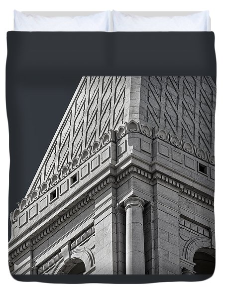 Travelers Tower Summit Duvet Cover