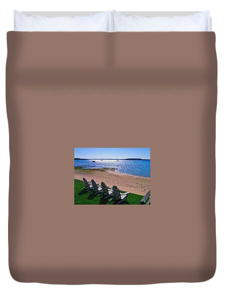 Traverse Bay Reverie Duvet Cover