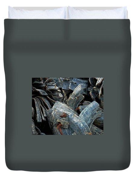 Treads Duvet Cover