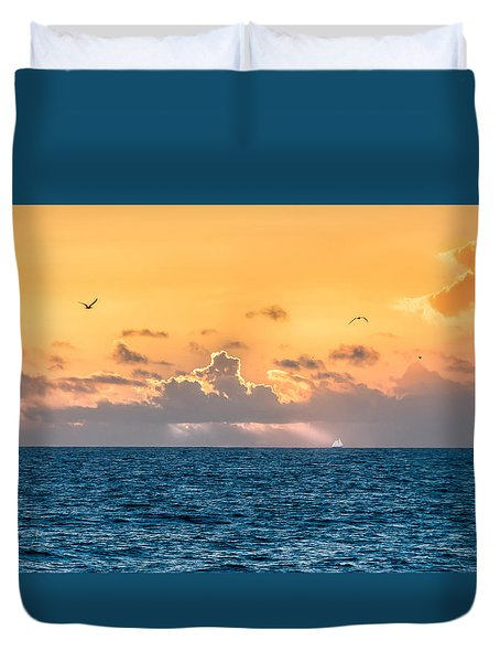 Treasure Coast Imaginations Duvet Cover by Craig Szymanski