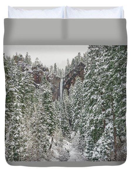 Treasure Falls Is One Of Colorado's Priceless Treasures.  Duvet Cover