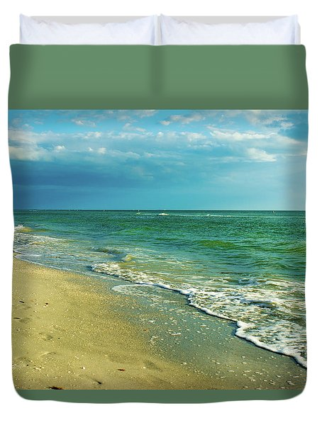 Treasure Island L Duvet Cover