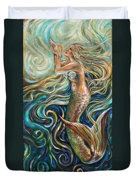Treasure Mermaid Duvet Cover
