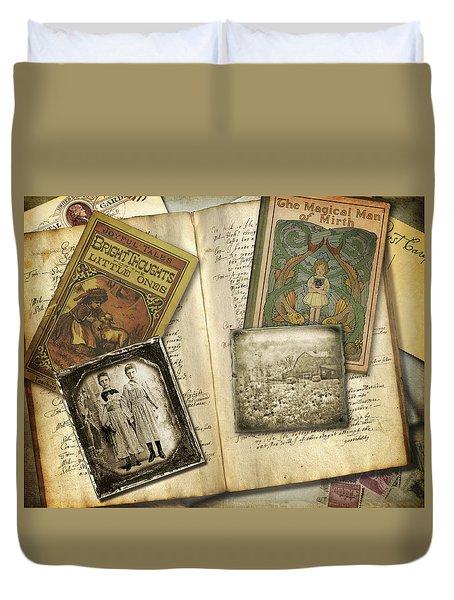 Treasured Objects Duvet Cover