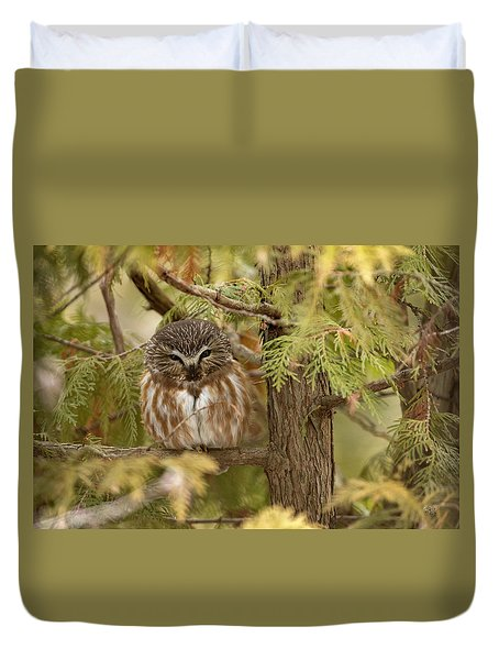 Duvet Cover featuring the photograph Treasures Of The Forest by Everet Regal