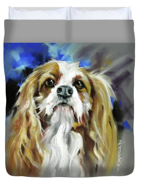 Treat Expectations Duvet Cover by Rae Andrews