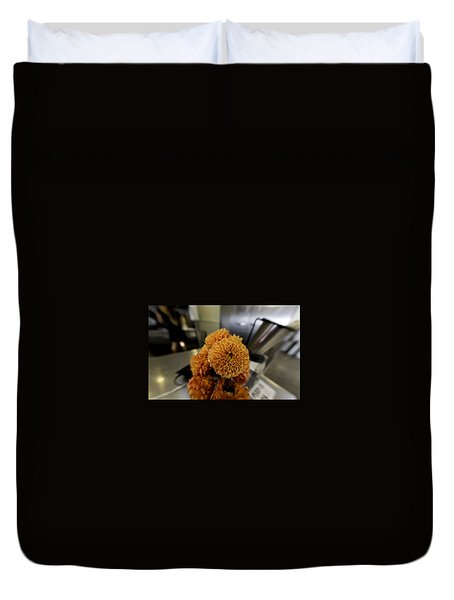 Duvet Cover featuring the photograph Treats At The Ice Cream Parlor by Lora Lee Chapman