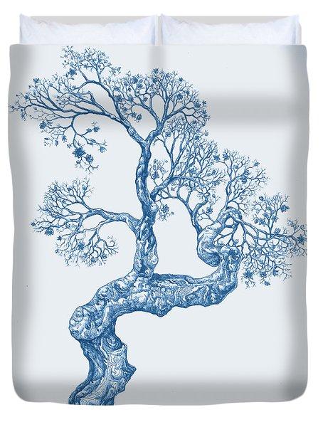 Tree 14 Blue 1 Duvet Cover