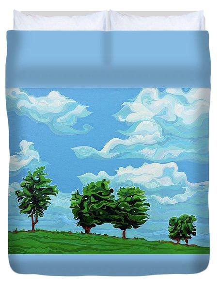 Tree Amigos Duvet Cover