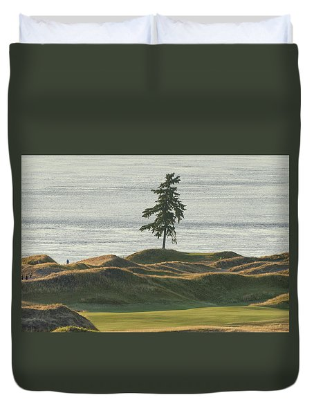 Tree At Chambers Bay Duvet Cover