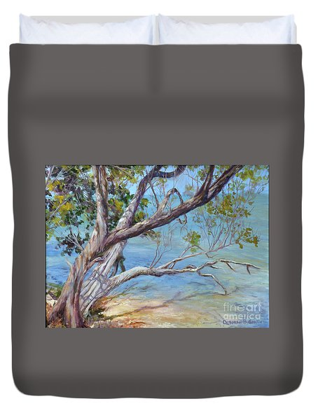 Tree At Islamorada Key Duvet Cover
