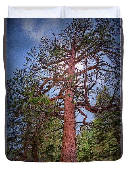 Tree Cali Duvet Cover