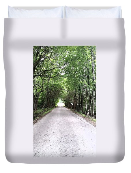 Tree Canopy Duvet Cover