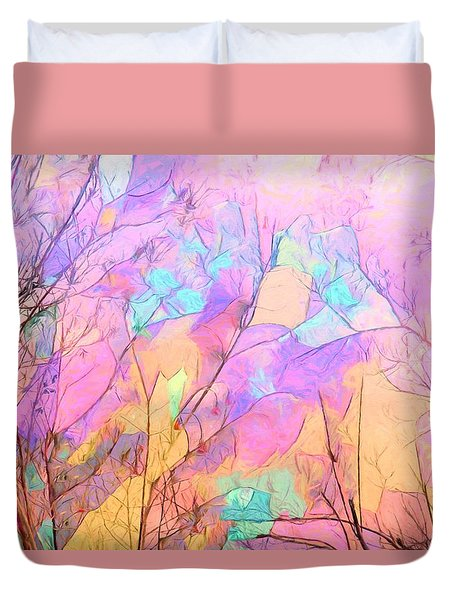 Tree Dance Duvet Cover