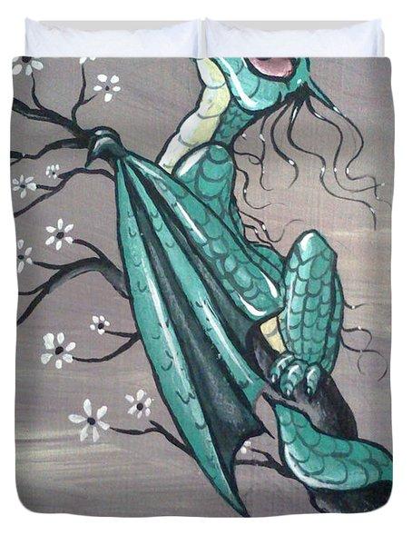Tree Dragon II Duvet Cover