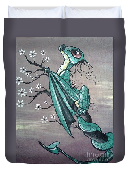 Tree Dragon II Duvet Cover