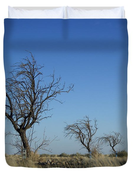 Tree Echo Duvet Cover