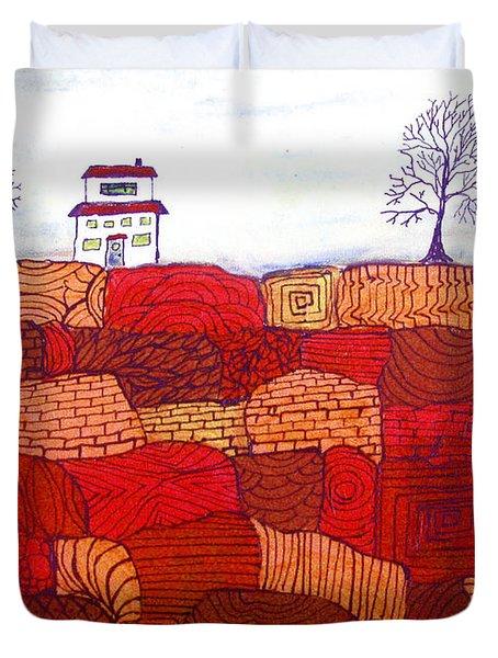 Tree Farm Duvet Cover