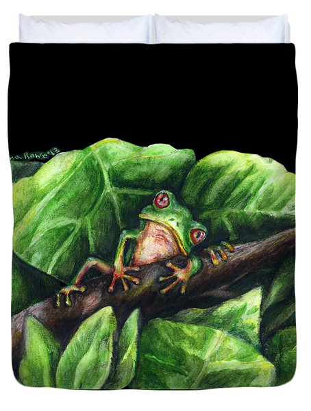 Tree Frog Products Duvet Cover by Shana Rowe Jackson