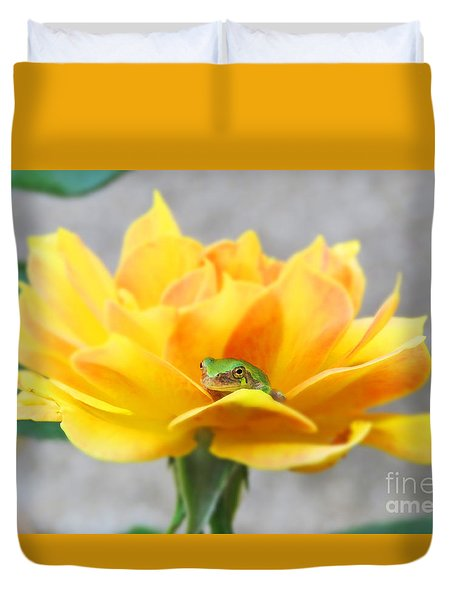 Tree Frog Series 1 Duvet Cover