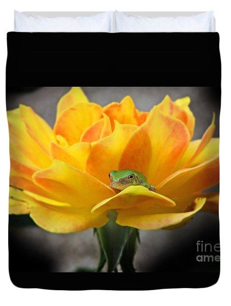 Tree Frog Series 2 Duvet Cover