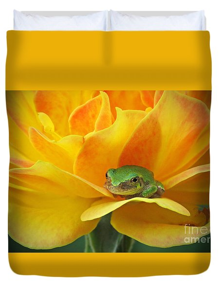 Tree Frog Series 4 Duvet Cover