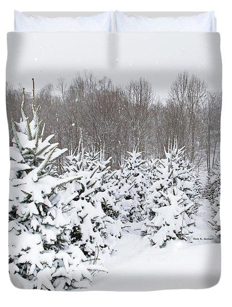 Fraser Snow Duvet Cover