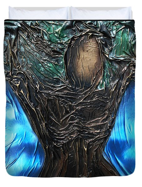 Tree Goddess Duvet Cover