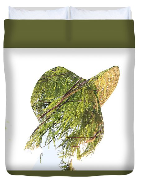 Tree Hat Duvet Cover