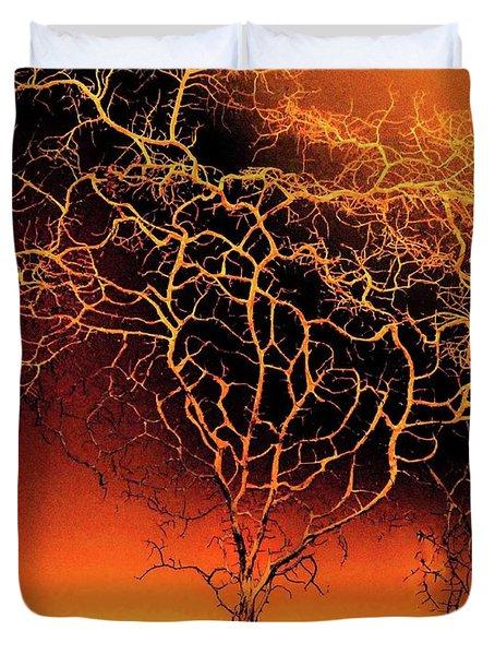 Tree In Light Duvet Cover