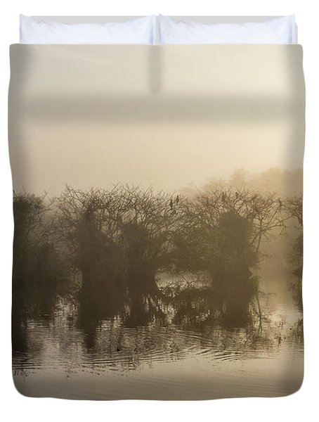 Tree Islands Duvet Cover