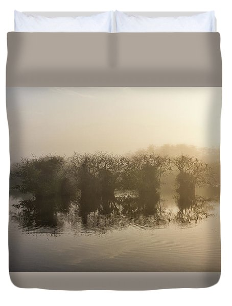 Tree Islands Duvet Cover