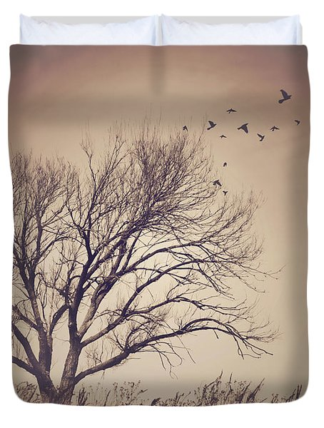 Duvet Cover featuring the photograph Tree by Juli Scalzi