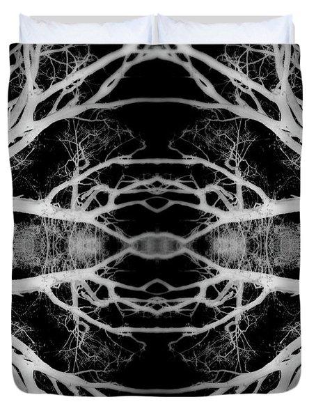 Tree Kaleidescope  Duvet Cover