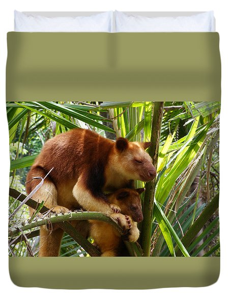 Tree Kangaroo 1 Duvet Cover