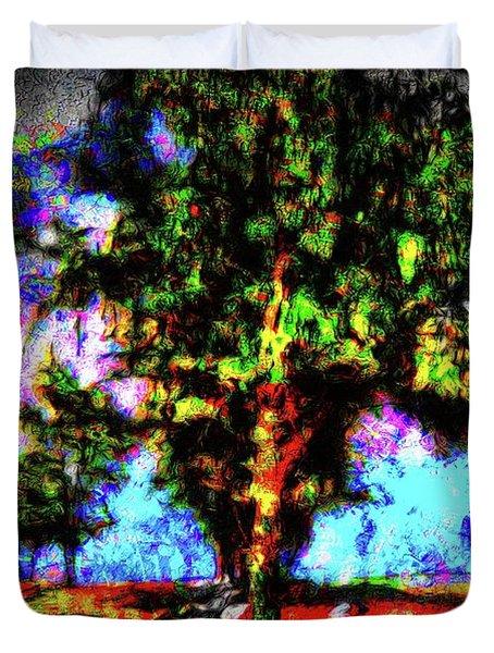 Tree Landscape 41 Duvet Cover