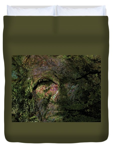 Duvet Cover featuring the photograph Tree Memories # 18 by Ed Hall