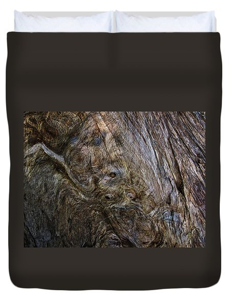 Duvet Cover featuring the photograph Tree Memories # 19 by Ed Hall