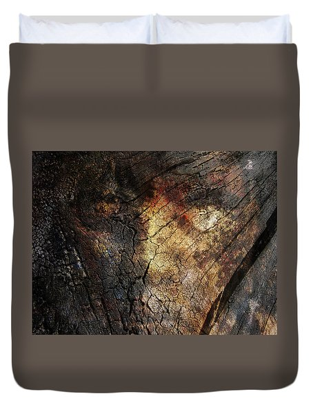 Duvet Cover featuring the photograph Tree Memories # 21 by Ed Hall