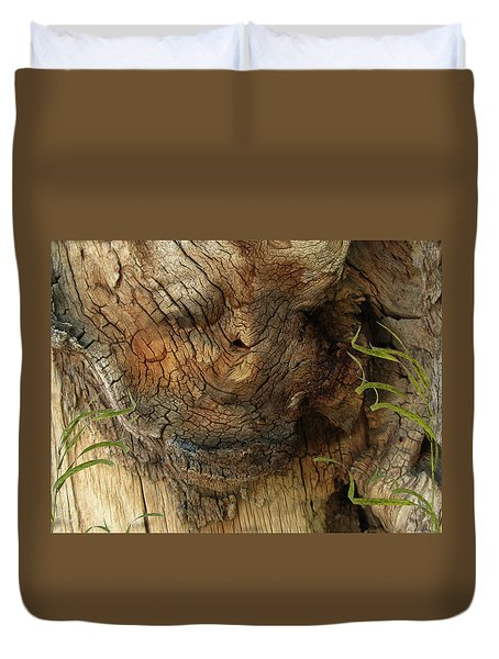 Duvet Cover featuring the photograph Tree Memories # 22 by Ed Hall