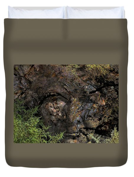 Duvet Cover featuring the photograph Tree Memories # 27 by Ed Hall